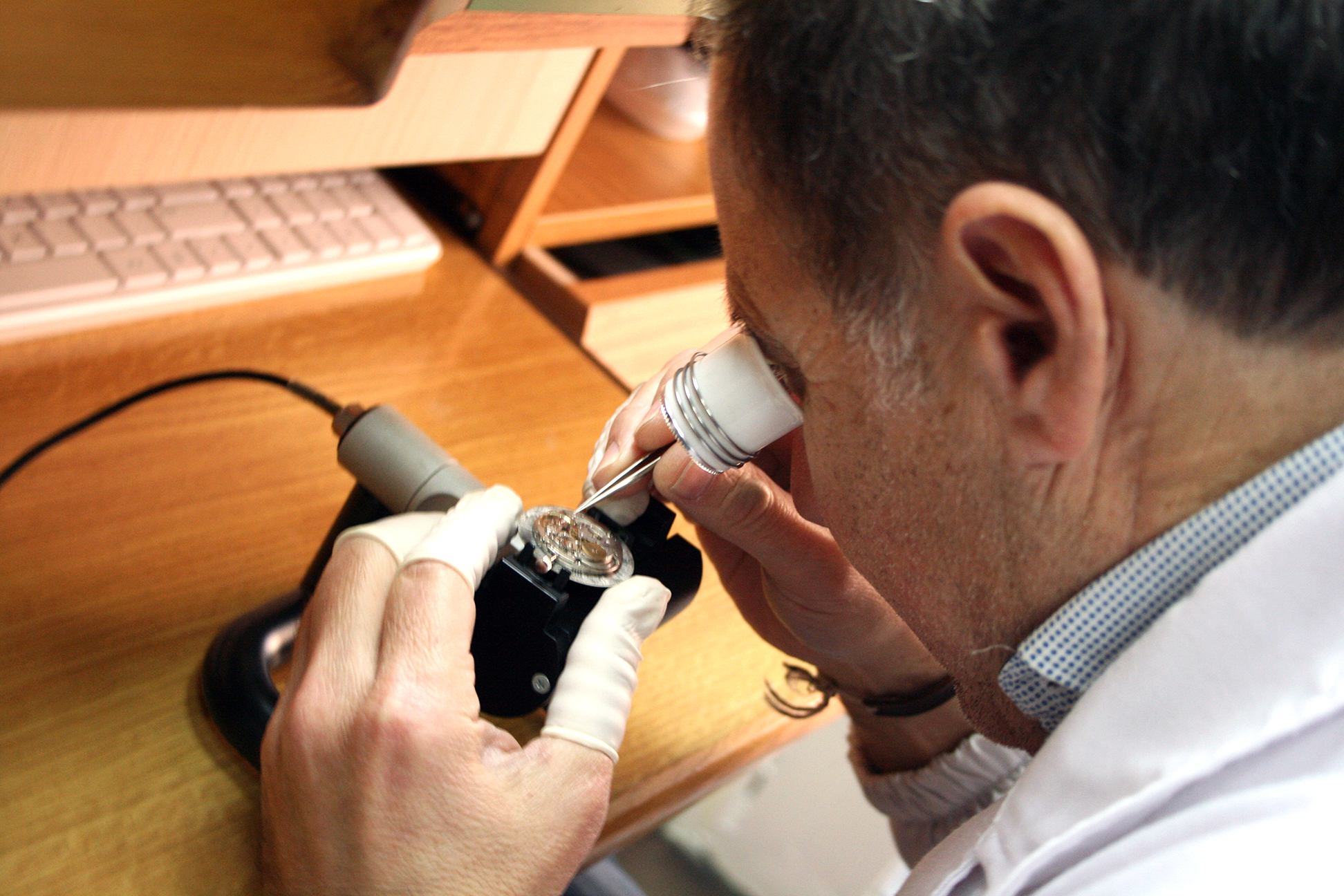 taller relojeros Carlos Nicolás